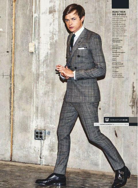 デインデハーン スーツ 雑誌