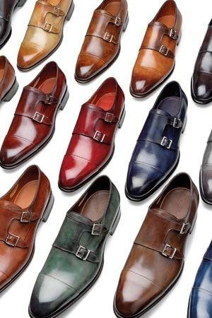 ダブルモンク 靴