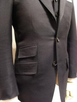 スーツ チェンジポケット