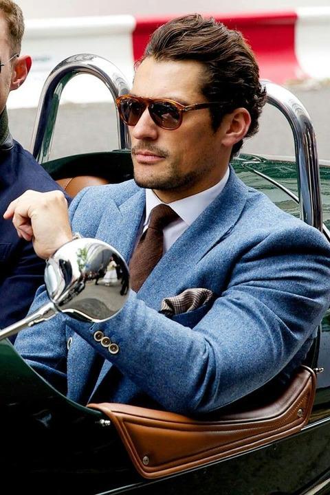 イタリア風 スーツ 着こなし