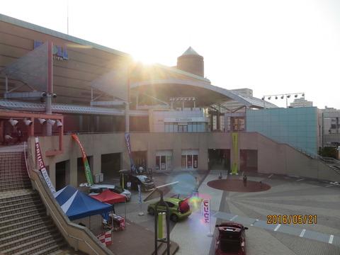 2016/5/21 夕方の和泉中央駅前