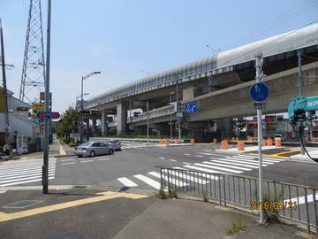 2016/5/21 和泉中央付近の泉北1号線
