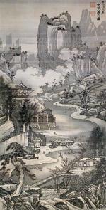 蘭亭曲水図3
