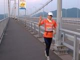 2007年しまなみ海道100Kmウルトラ遠足(来島海峡大橋)