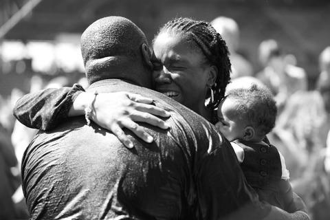Ballpark-Baptism-Hug