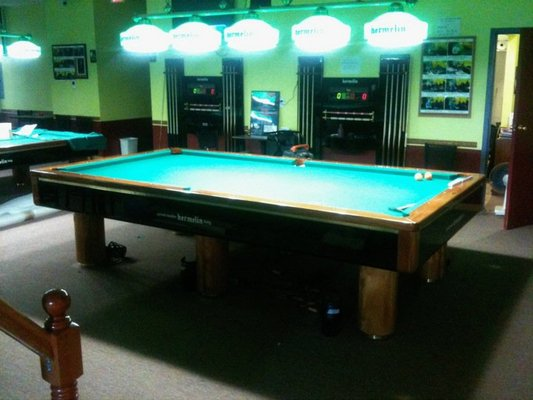 10 for 10 foot snooker table