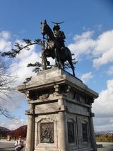 伊達政宗公の銅像