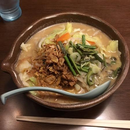 信州味噌野菜ラーメン