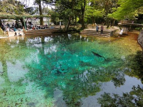 Beppu_benten_pond