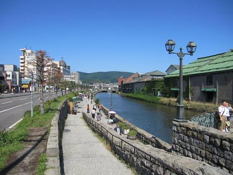 1024px-Otaru_Canal_Dusk_in_summer