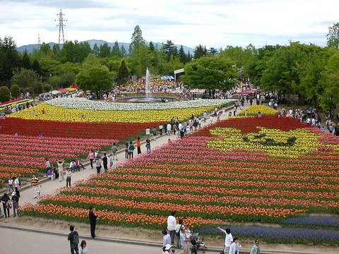 1024px-砺波チューリップ公園