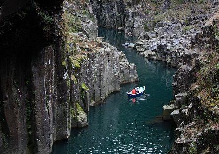 Takachiho-kyo(Gorge)_-_River_-_川