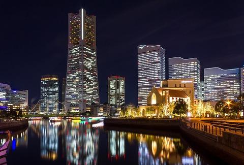 1024px-Yokohama_Landmark_Tower_at_night_2