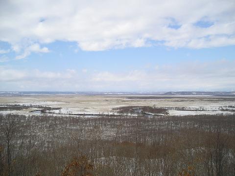 Kushiro_marshland_of_winter_Hokkaido,JAPAN