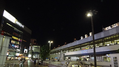 1280px-JR_Omiya_Station_West_Exit_Night