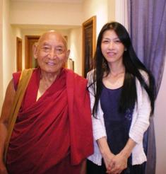 チベット僧パンデン・ギャツォ氏と