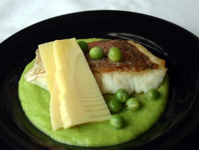 100307魚と豆ソース
