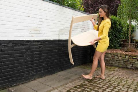 空気椅子なベンチ4