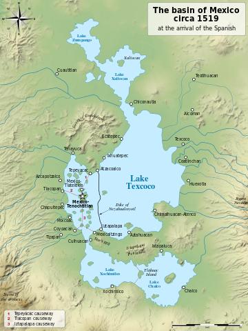テスココ湖Texcoco