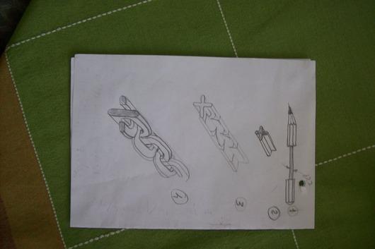 鉛筆の芯,アート10