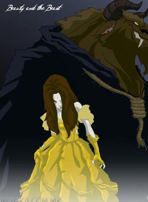 ダークサイドに落ちたディズニープリンセス3