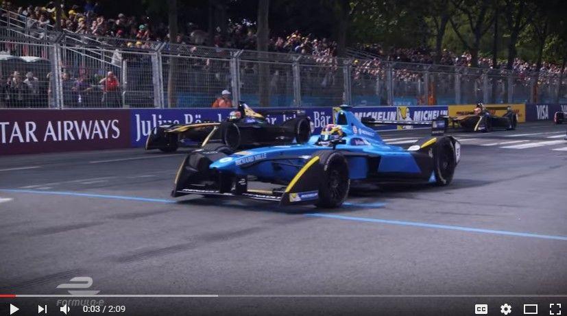 【動画】フォーミュラE第6戦「パリ」の50分ハイライト映像!ブエミが脅威の5勝目