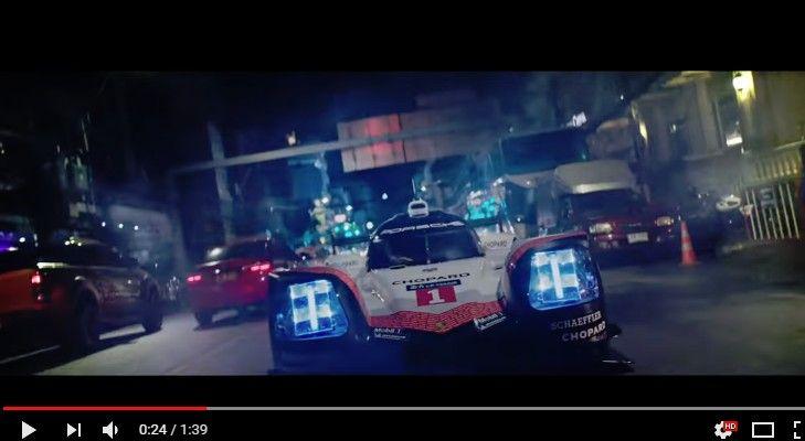 ポルシェの「919 Tribute Tour」はタイへ!ル・マン三連覇で伝説となったLMP1カーが夜のバンコクを駆け抜ける!