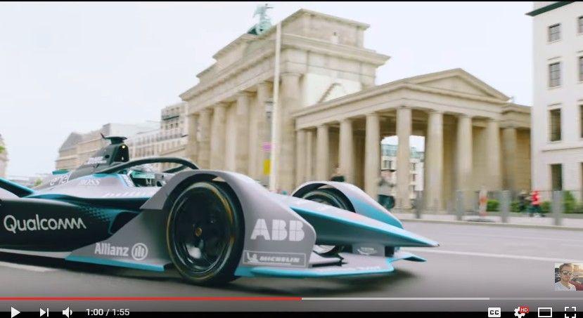 2016年F1チャンピオンのニコ・ロズベルグガ新型フォーミュラEマシンを運転してみた!