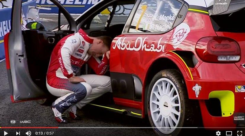 【動画】WRC第10戦「ラリー・ドイチェランド」が開幕!ミークがはやくも事故る…初日の公式映像&アタック集いろいろ
