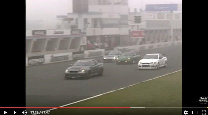 【動画】チューンド東西決戦! S2000 & NSX、GT-R & RX-7が筑波サーキットバトル!2006年ホットバージョン
