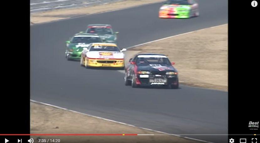 【動画】どのカテゴリーのマシンが速い!?「レーシングカー異種格闘技バトルロイヤル」97年ベスモ