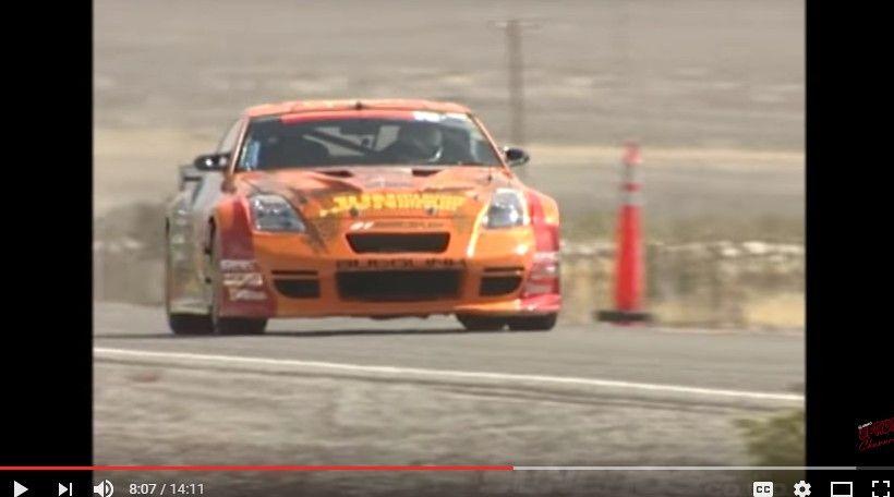 【動画】稲田大二郎が350Zでシルバーステイツ最高速に挑戦!2005年V-OPT