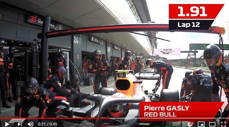 【F1 イギリスGP】レッドブル・ホンダがピットストップ最速記録を樹立!ハミルトンのFLオンボード!DHLアワード動画が公開