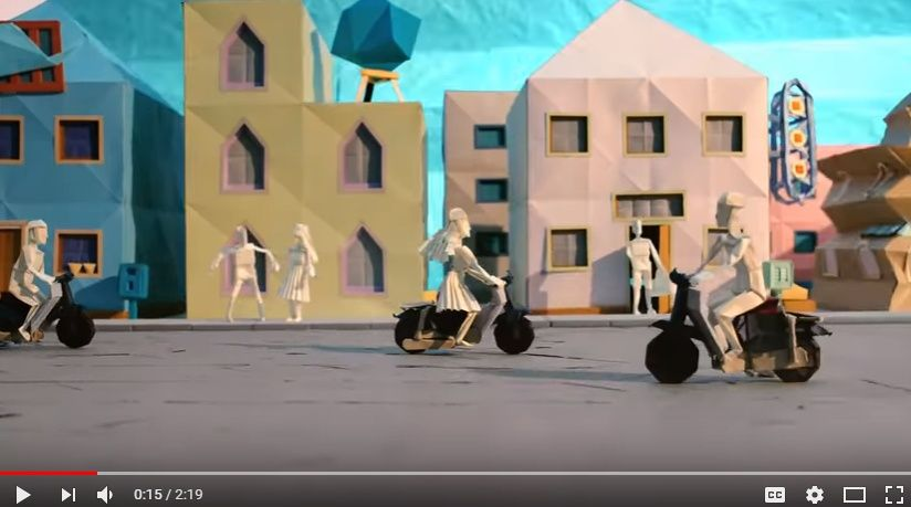 祝!ホンダ70周年!!Hondaの世界を折り紙とストップモーションで描いた2分超の映像作品が公開される。