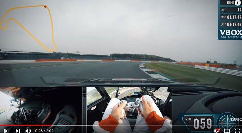 【動画】プレステのコントローラーをつかい遠隔操作で操縦する実車GT-Rのオンボード映像が公開!