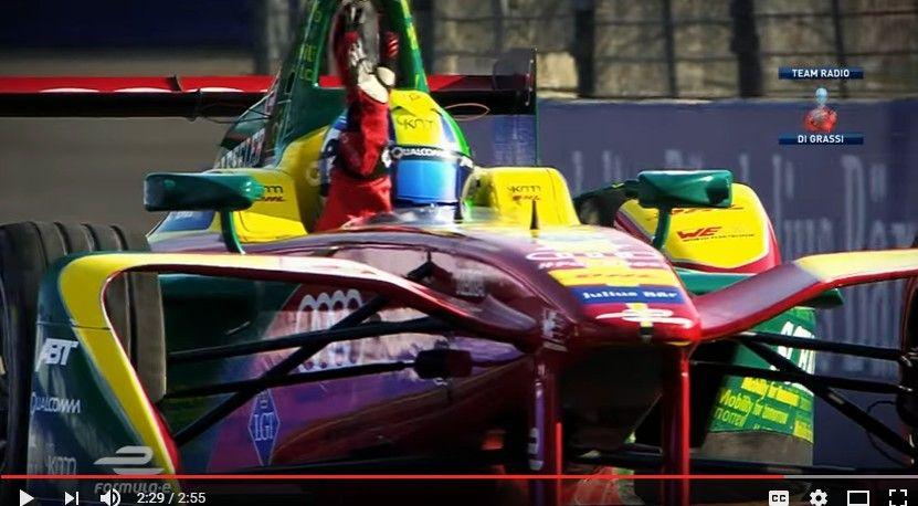 【動画】フォーミュラE第4戦「メキシコシティ」の40分ハイライト!ディ・グラッシが大逆転V