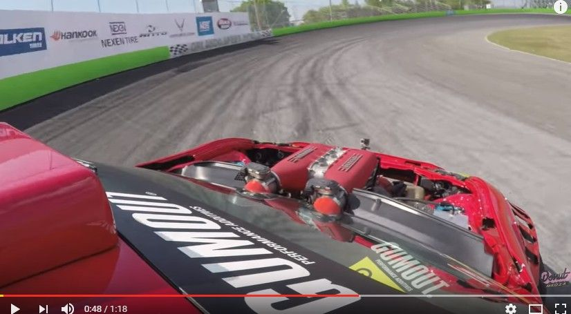 【動画】フェラーリエンジン搭載の86でドリフトしてみた!