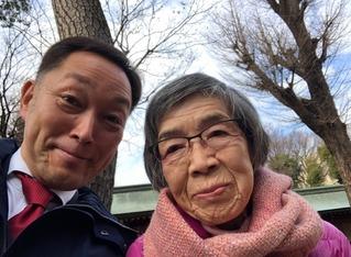 20200111母初詣で早坂先生