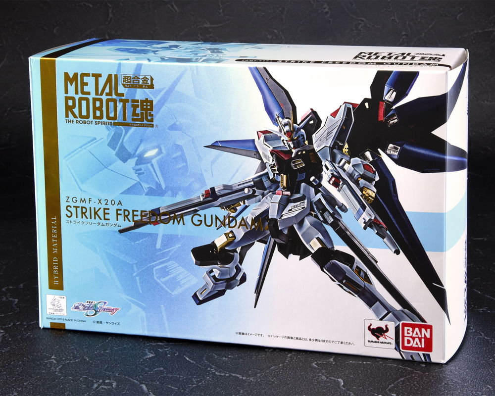Used Bandai Robot Spirits SIDE MS Strike Freedom Gundam