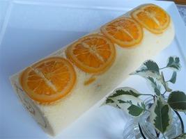 オレンジロールケーキ