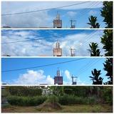 21.06.24 今日の空と昨日の草取り後