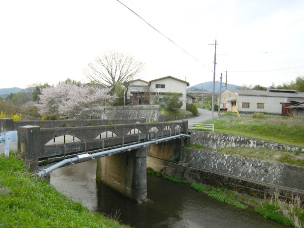丹波の橋 「九ノ瀬橋」 篠山市北野新田