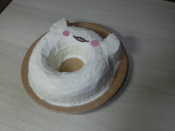 【艦これ】浮き輪さんケーキ作ってみた!