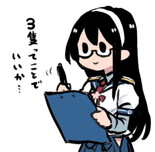 【艦これ】大淀さんと任務報告 他なごみネタ