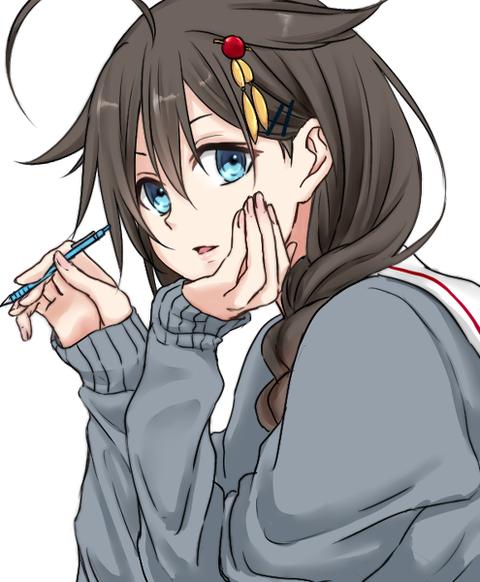 【艦これ】駆逐艦のファンアートって感覚的にだが、時雨と夕立が多くない?