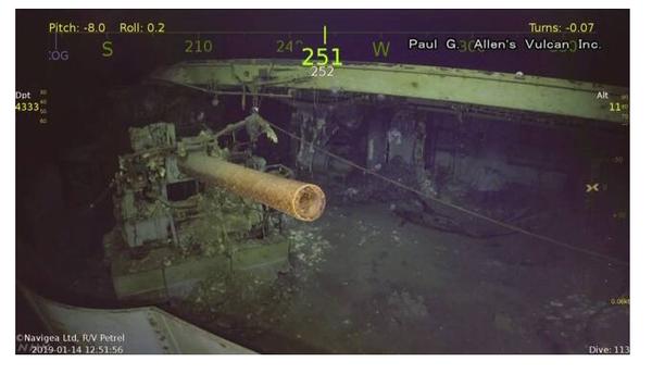 【艦これ+一般】ポール・アレン氏が設立した調査チームが米空母「ワスプ」を ソロモン諸島沖で発見!