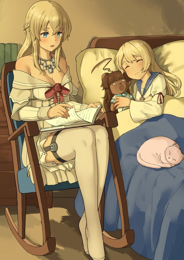 【艦これ】良く眠れますように 他なごみネタ