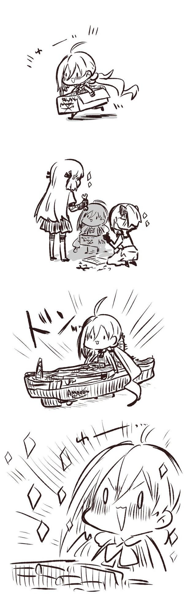 【艦これ】戦艦になった清霜 他なごみネタ