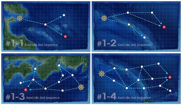 【艦これ】海域めっちゃ変わってるやんけ!実質、6-5以来の新海域の実装と思えば楽しみよね! リニューアルされた海域に対する提督の反応まとめ