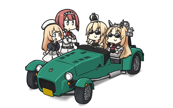 【艦これ】コロラドって無駄にでかい車に乗ってそうだよね